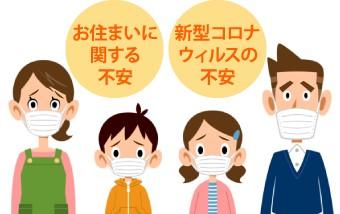お住まいに関する不安,新型コロナウィルスの不安
