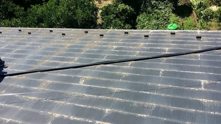 スレート屋根の劣化
