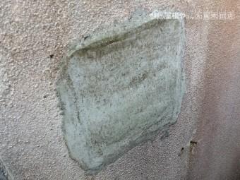 外壁の補修箇所