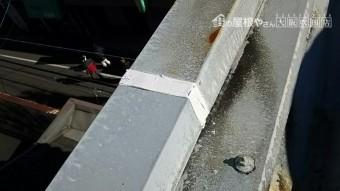 コーキング充填工事 雨漏り防止