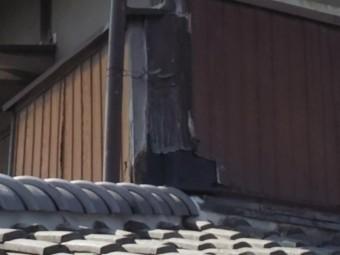壁際立上り板金工事