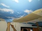 雨漏り天井めくり工事