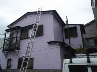 雨漏り調査開始 屋根の調査