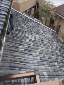 雨漏れ下屋根