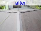 屋根葺き替え工事後のスレート屋根