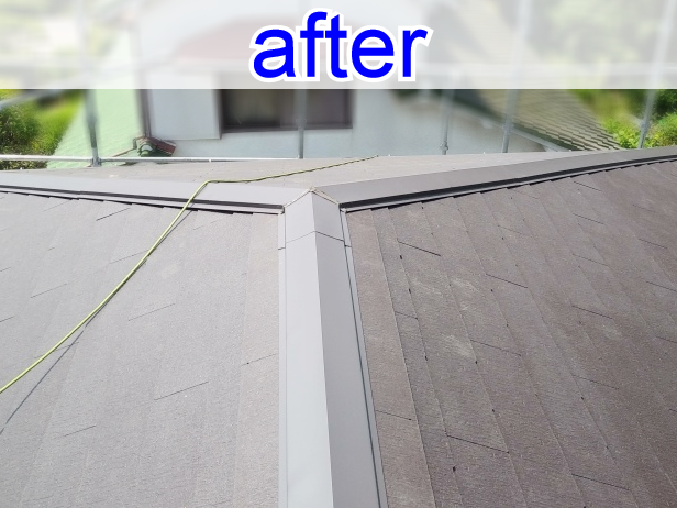 箕面市 屋根葺き替え工事で災害に強く長持ちする屋根へ!
