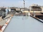 屋上ウレタン防水塗装完了
