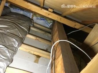 雨漏り調査 天井裏調査