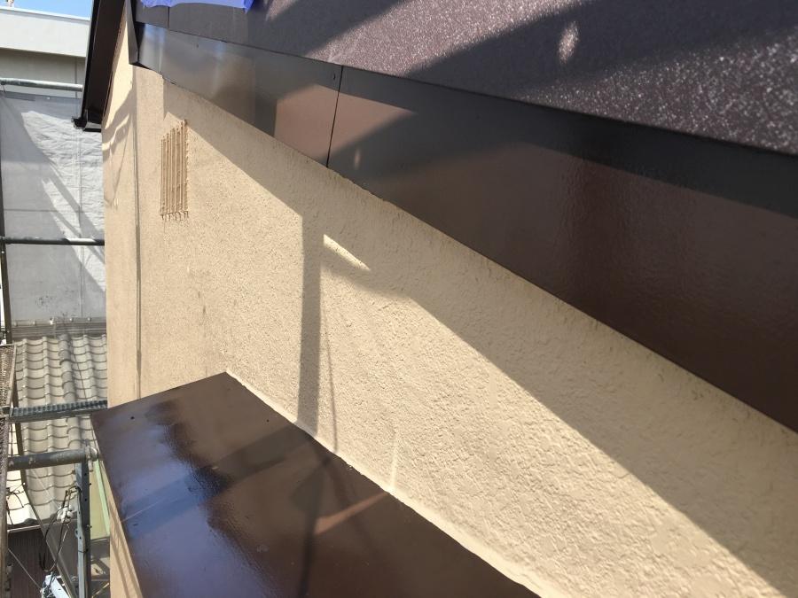 外壁細部塗装