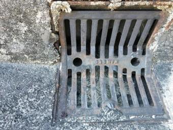 バルコニー排水溝