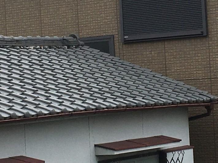 瓦屋根漆喰