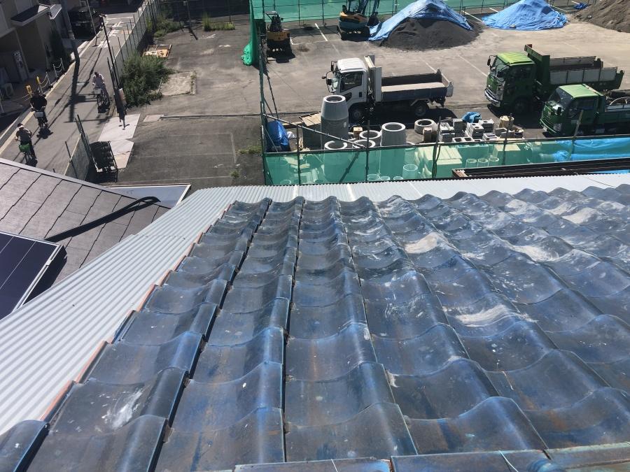 屋根と担補修