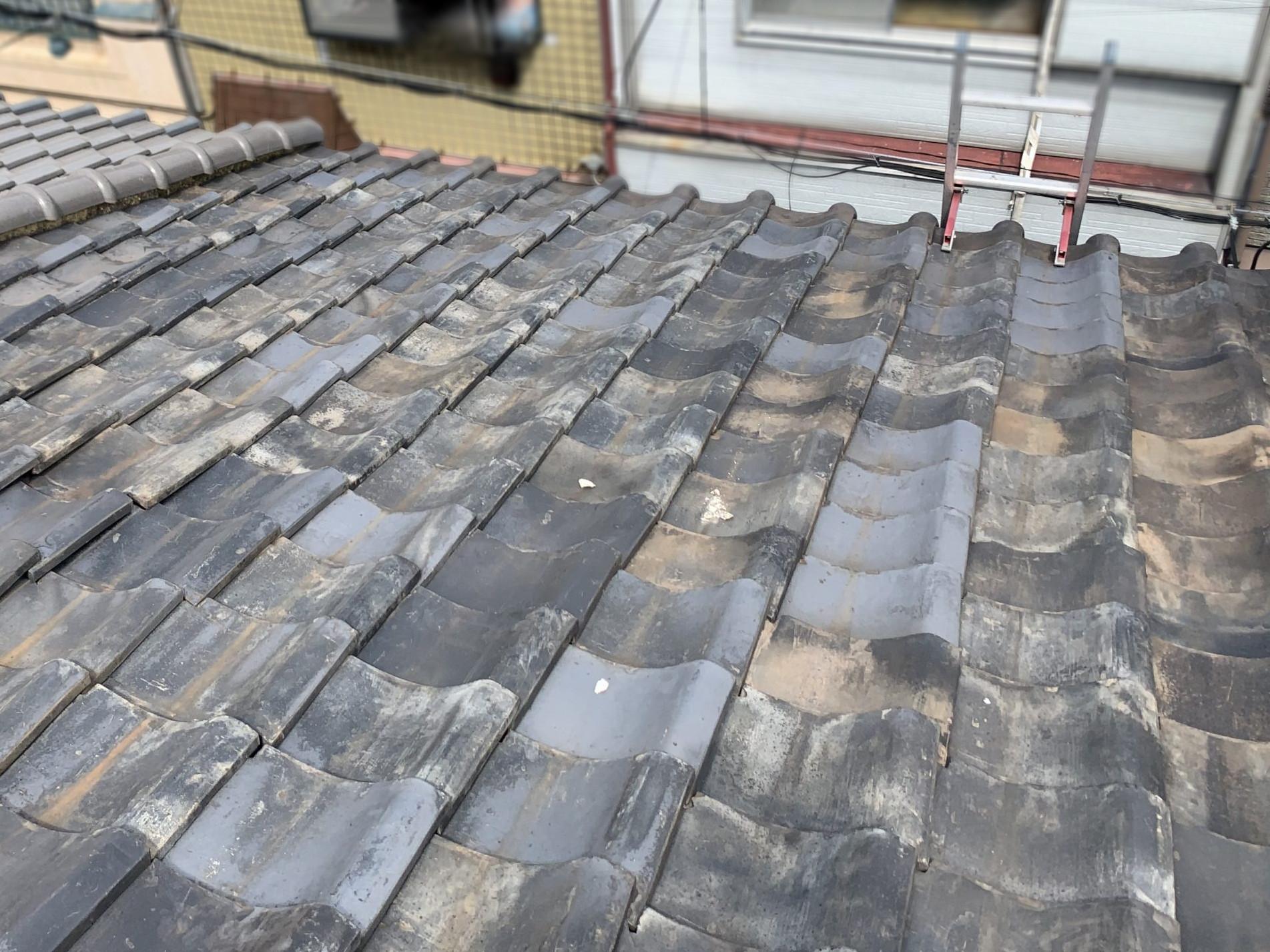 雨漏り点検を実施する屋根