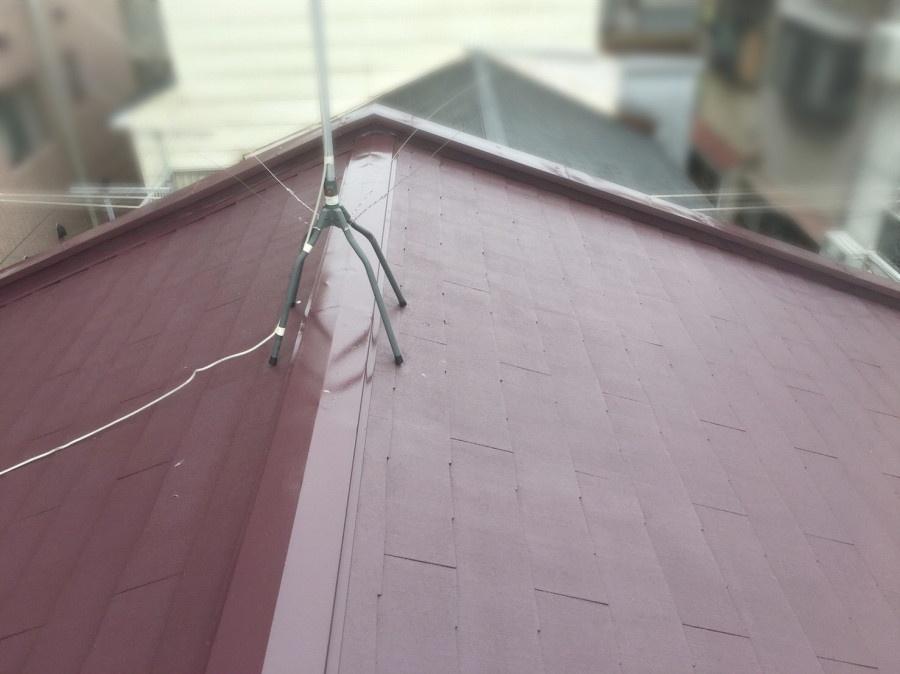 リフォーム後のスレート屋根