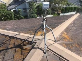 施工前の既存屋根