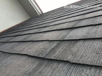 スレート屋根の色あせ劣化