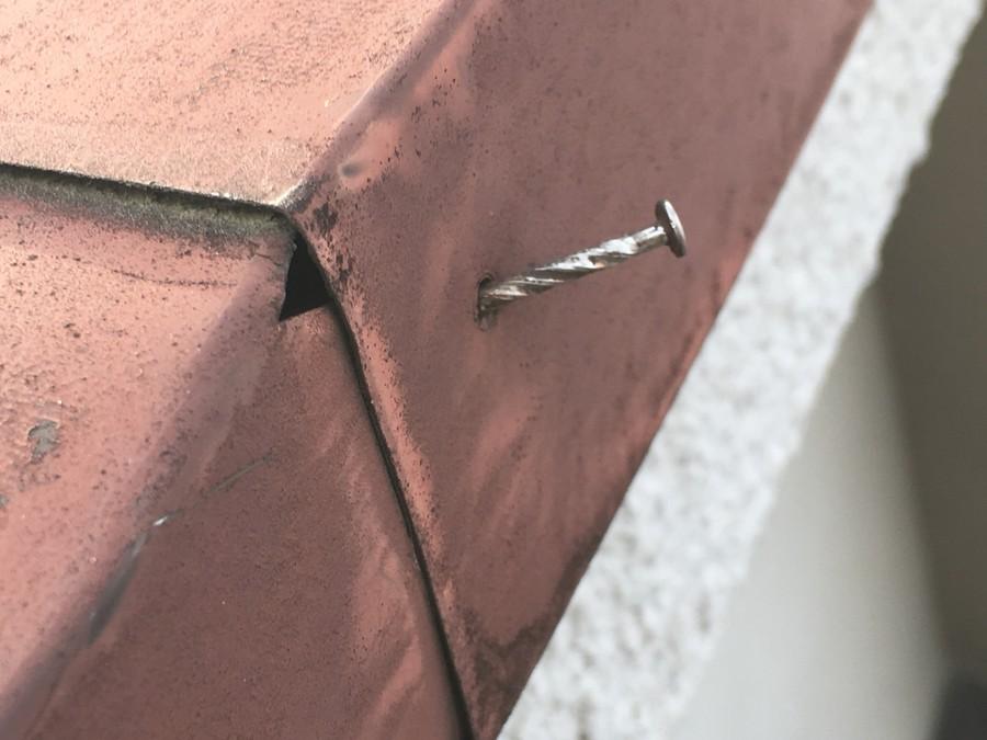 釘浮き補修