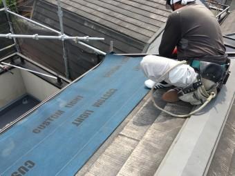 スレート屋根カバー工事