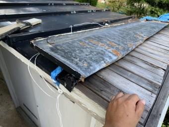 瓦棒屋根補修