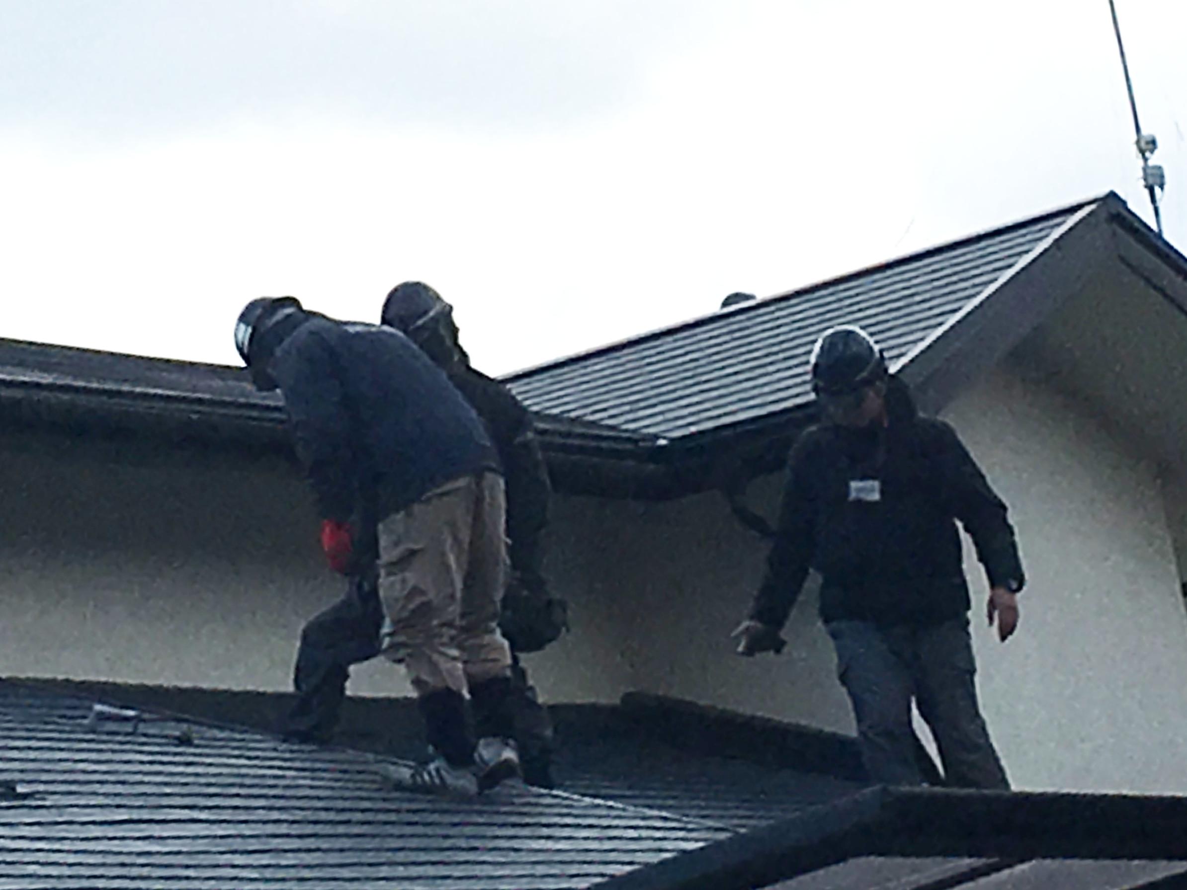 雨漏り修理から一年後の定期点検
