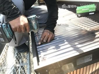 ポリカ波板を使用したベランダバルコニー