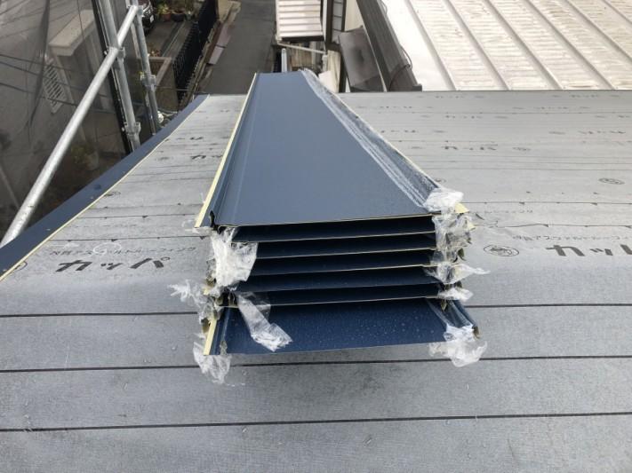 屋根施工材料立平