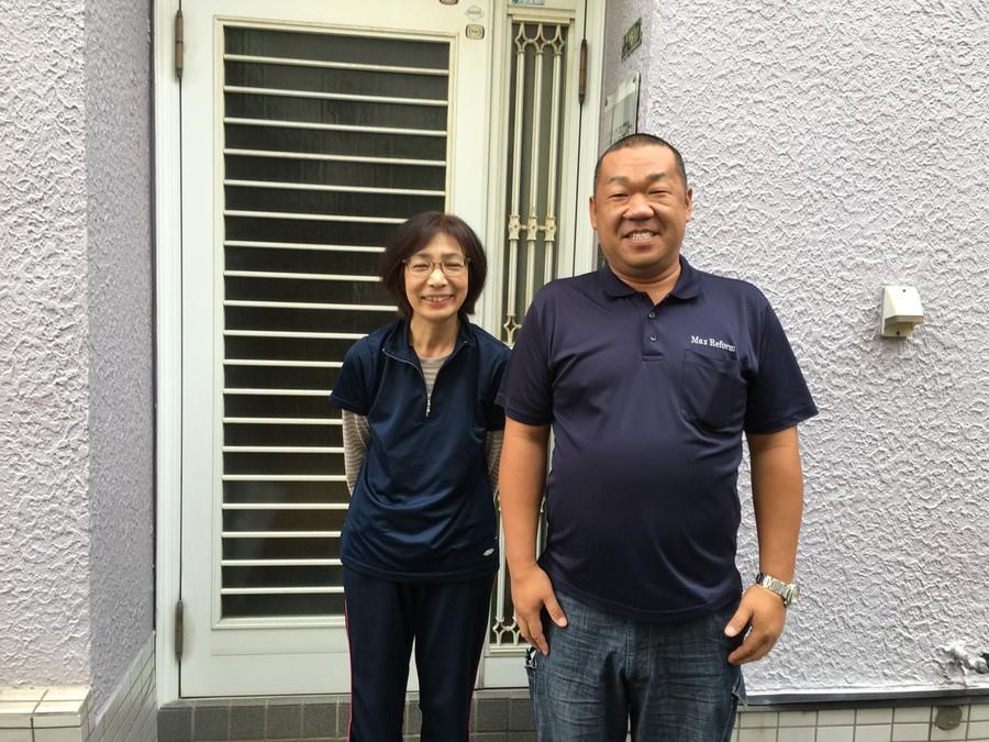 東淀川区|塩ビ防水工事のお客様よりお声をいただきました。