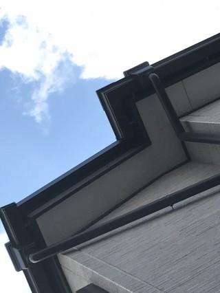 屋根葺き替え工事 ケラバ