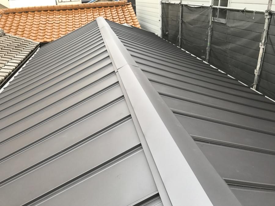 屋根の葺き替え完成