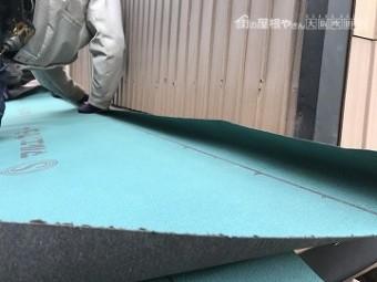 カバー工事 防水紙 アスファルトルーフィング