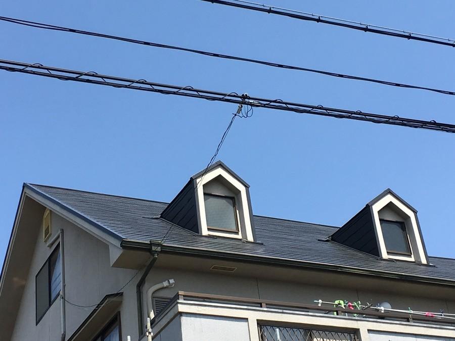 高槻市 屋根塗装後