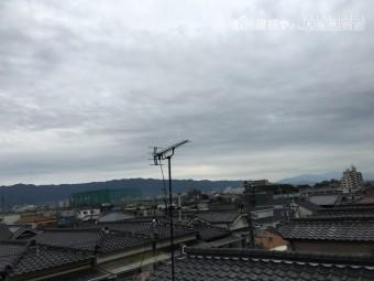 雨雲のある空