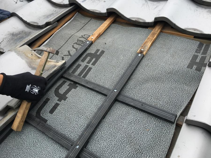 タフモック プラスチック樹脂製の桟