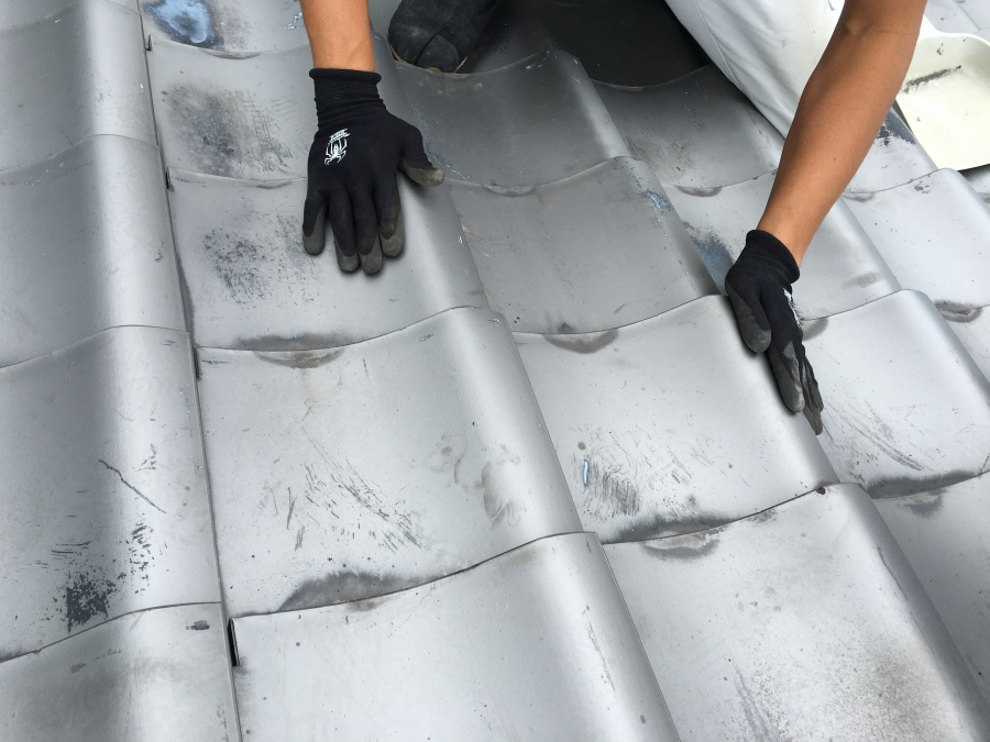 部分リフォームで屋根の復旧完了