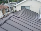 瓦屋根からスレート屋根へ葺き替え