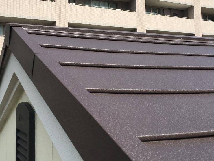 スーパーガルテクトの屋根