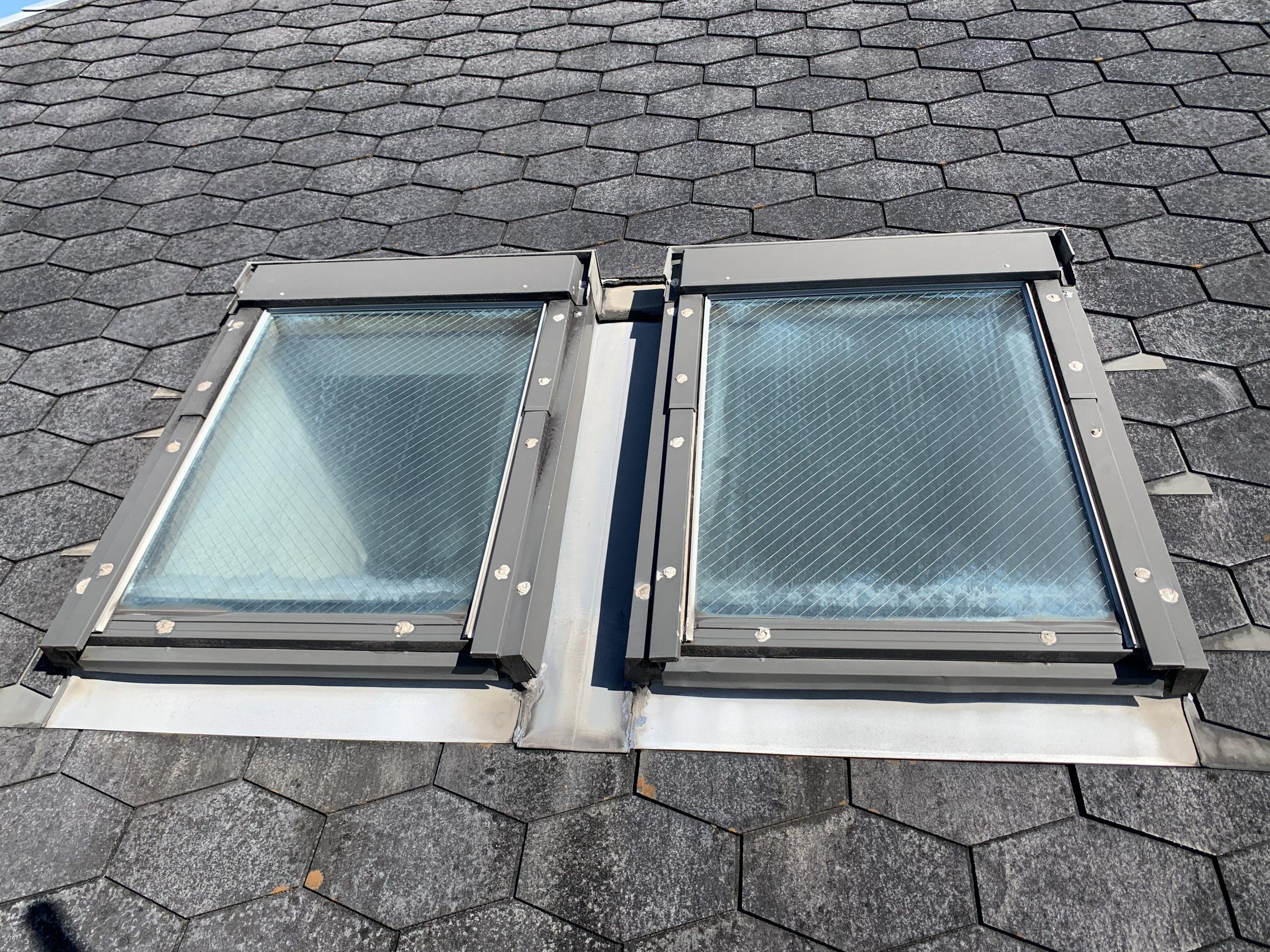 池田市で評判の雨漏り修理なら!天窓からの雨漏りを解決します