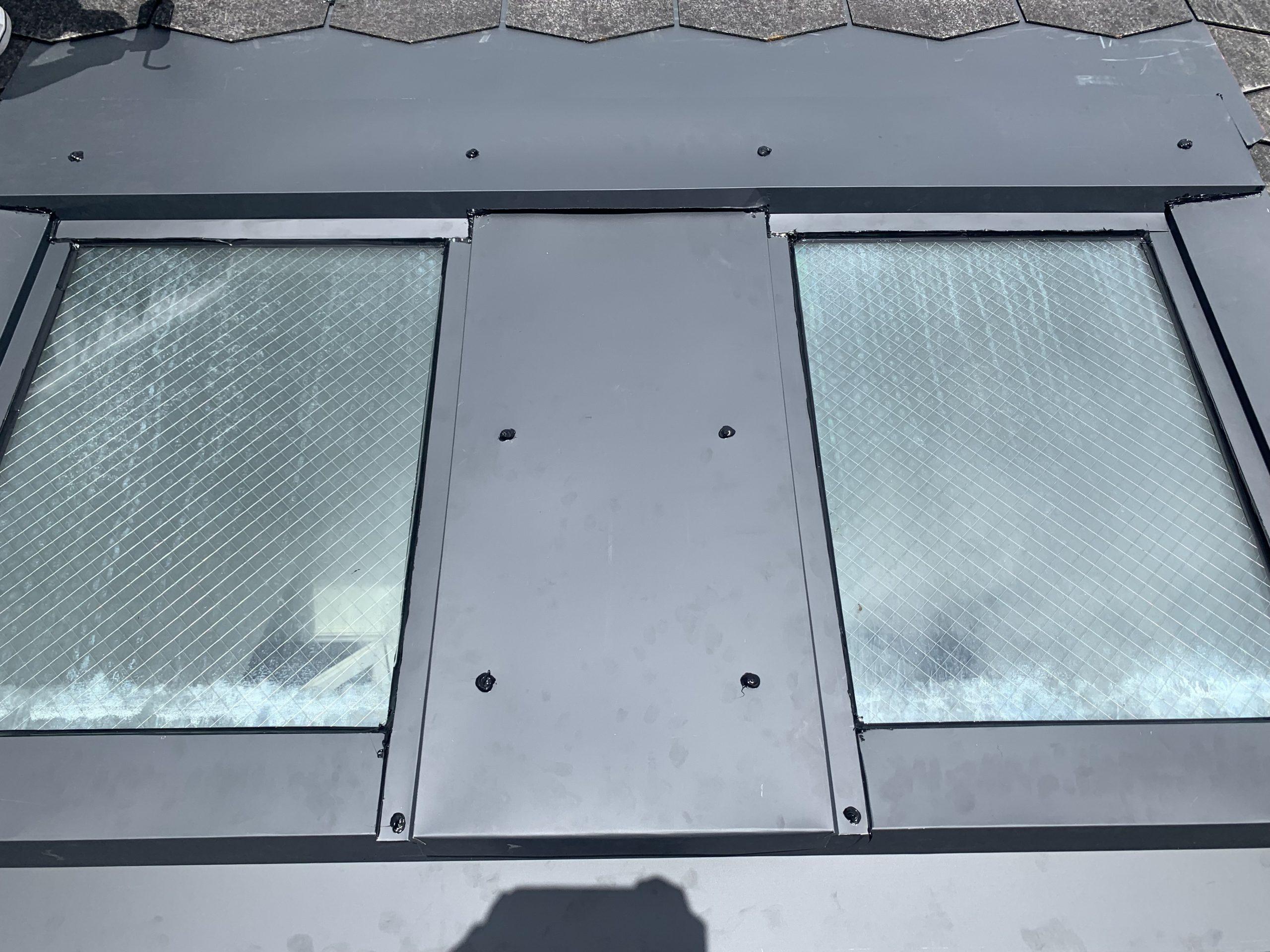 天窓のカバー工事