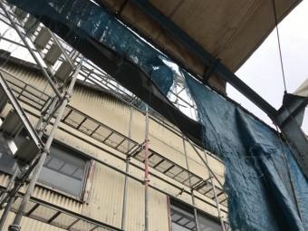劣化した建物の躯体
