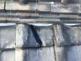 瓦屋根棟部分