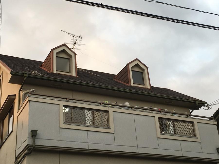 高槻市 屋根塗装前
