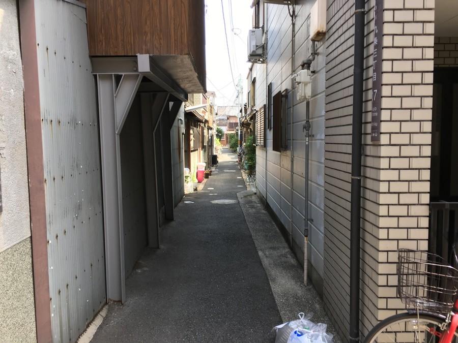 歩行車道路