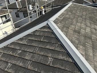 吹田市 屋根塗装工事前