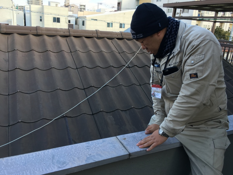 下屋根調査