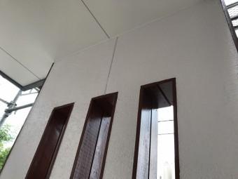 外壁塗装及び木部塗装施工後