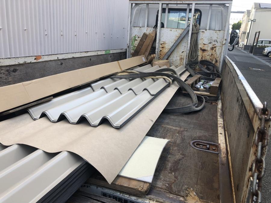波型スレートカバー工事材料