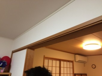 雨漏り調査 天井②