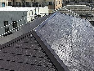 屋根塗装工事ビフォー
