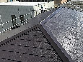 吹田市 屋根塗装工事後