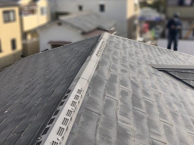 屋根カバー工法ビフォー